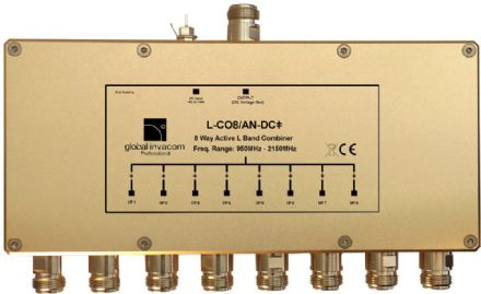 L Band 8 Way Active Combiner